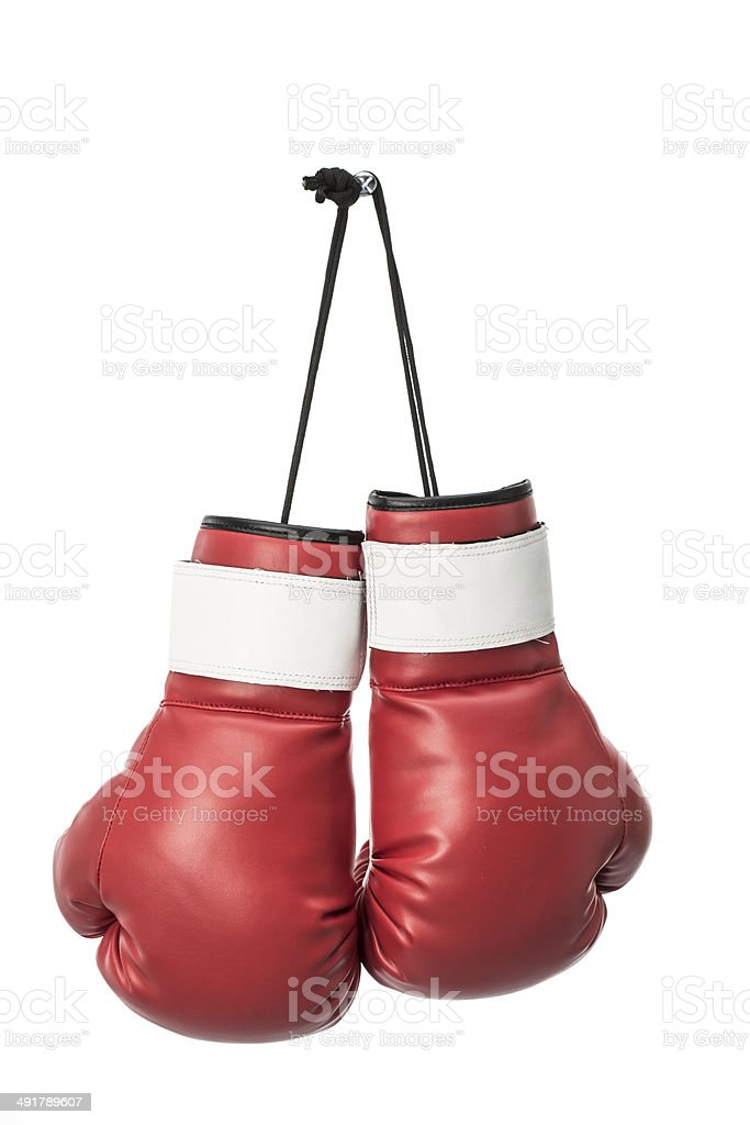 Gants de boxe rouges - Photo