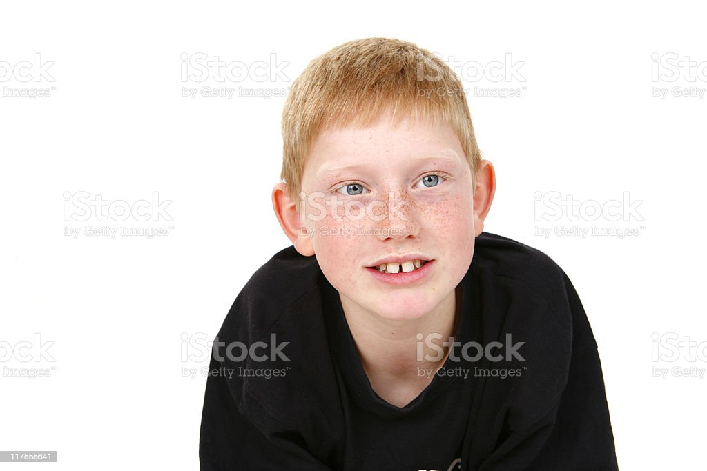 Red Boy royalty-free stock photo