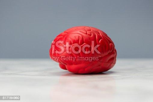 istock Red brain 517184960