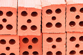 red brick in construction