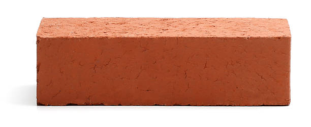 red brick - single object stock pictures, royalty-free photos & images