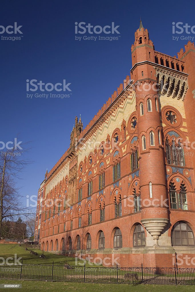 red brick style royalty-free stock photo