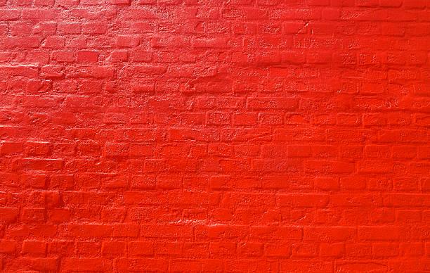 Fundo de parede de tijolo vermelho - foto de acervo