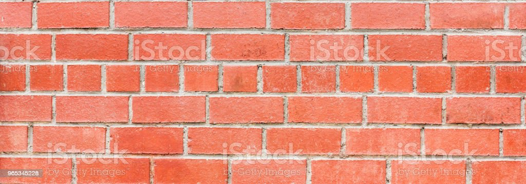 Red brick wall background texture, banner royalty-free stock photo