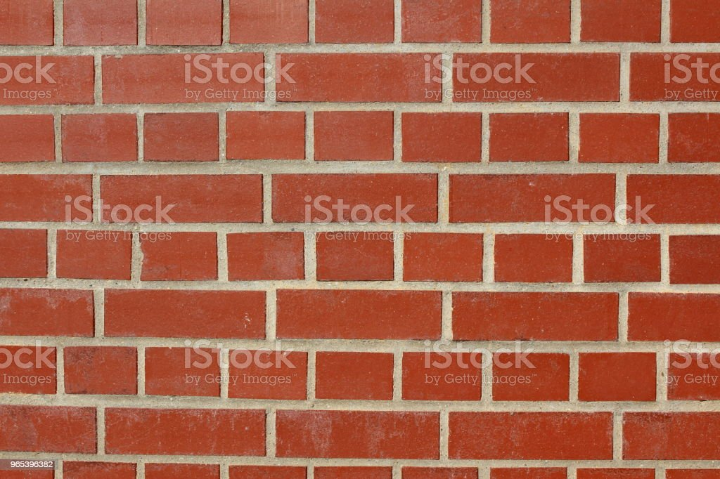 red brick wall background texture - Zbiór zdjęć royalty-free (Bez ludzi)