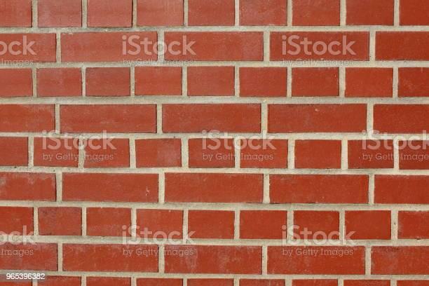 Tekstura Tła Ściany Z Czerwonej Cegły - zdjęcia stockowe i więcej obrazów Bez ludzi