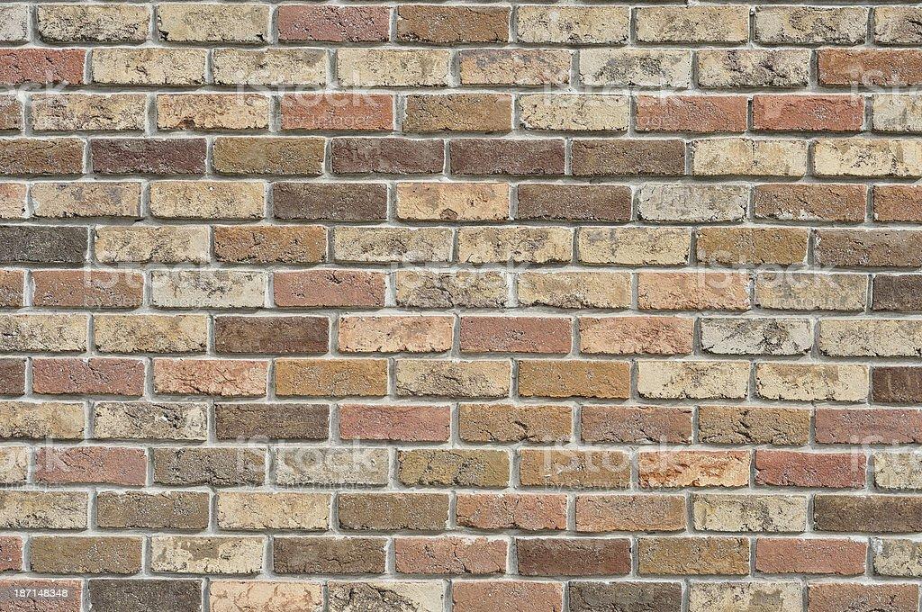 Red Brick Wall royalty-free stock photo