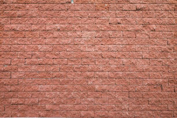 Red brick wall seamless background stock photo