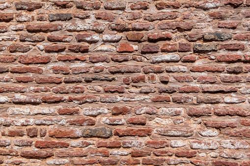 Rote Backstein Wand Textur Hintergrund Stockfoto und mehr Bilder von Alt