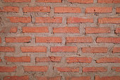 Red brick wall texture background,Abstract red brick wall texture background.old brick brown wall texture