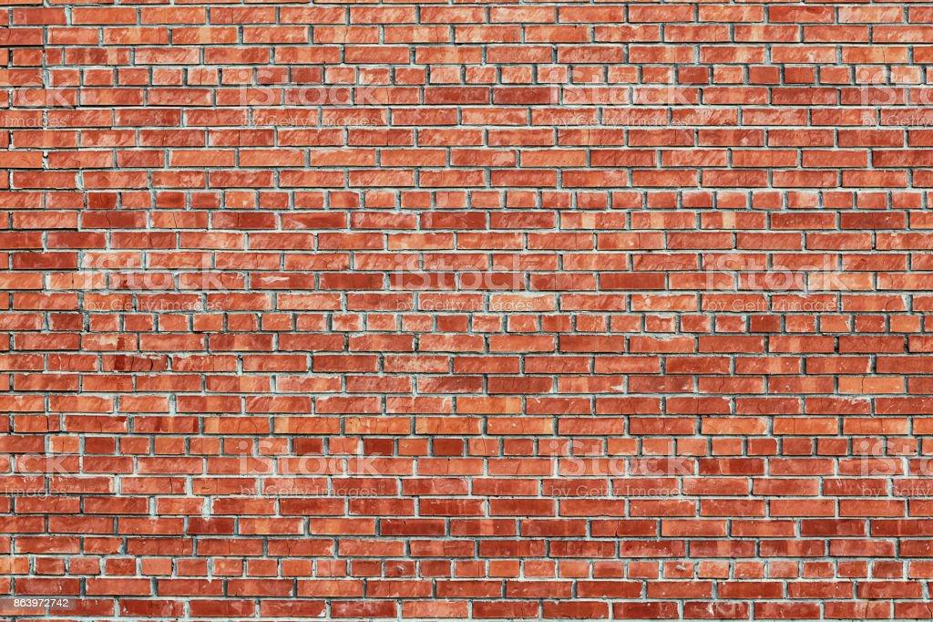 Rote Backstein Wand Textur grunge Hintergrund – Foto