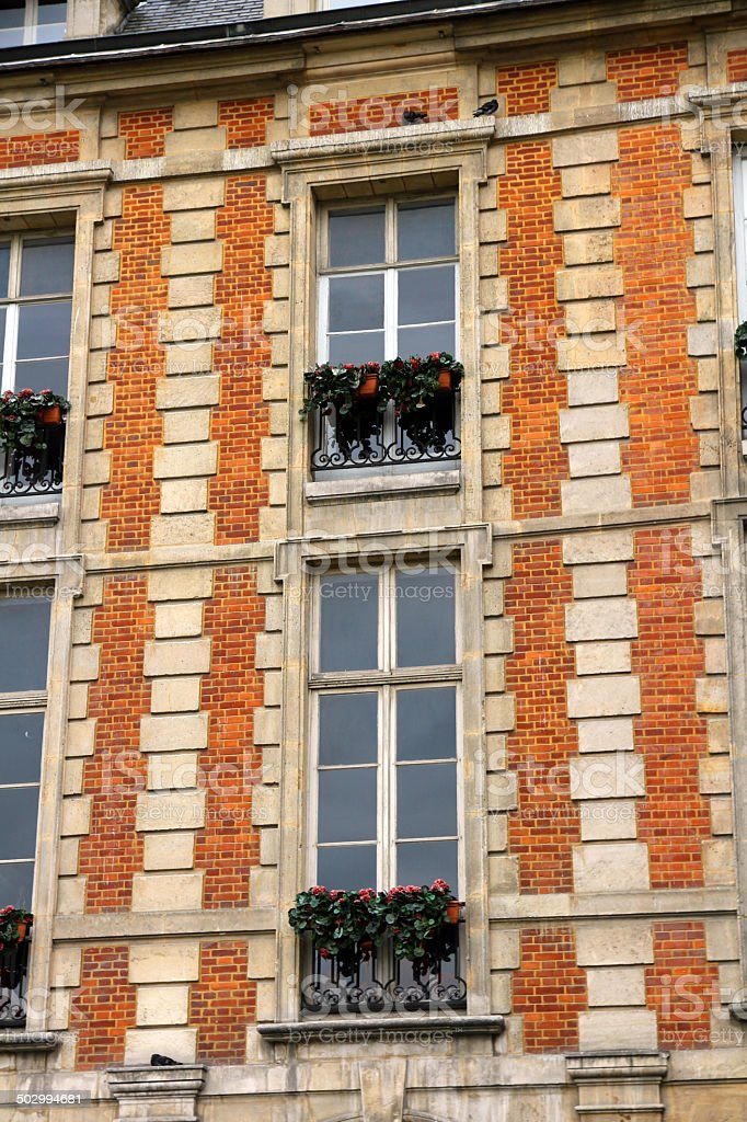 Red Bricks and Window royalty-free stock photo
