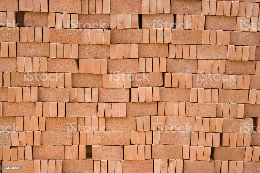 Red bricks background royalty-free stock photo