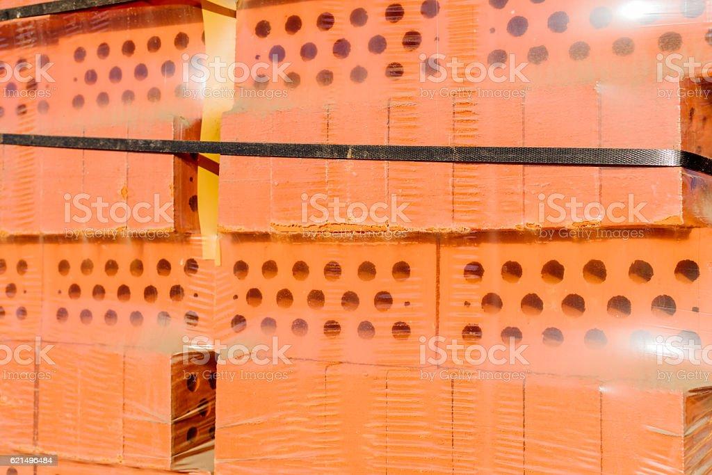 Briques rouges  photo libre de droits