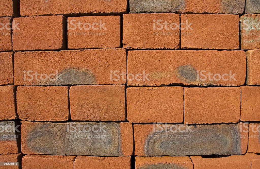 Red bricks royalty-free stock photo