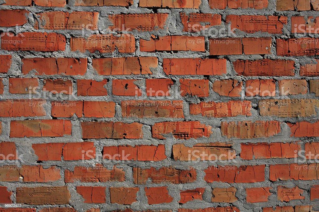 Red brickwork royalty-free stock photo