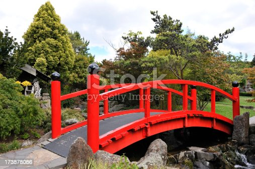 Japanese style bridgeRelated Images: