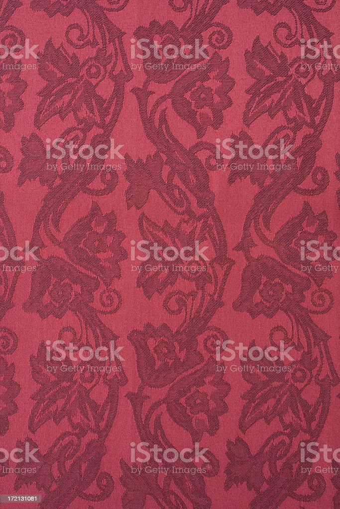 Red brocade royalty-free stock photo