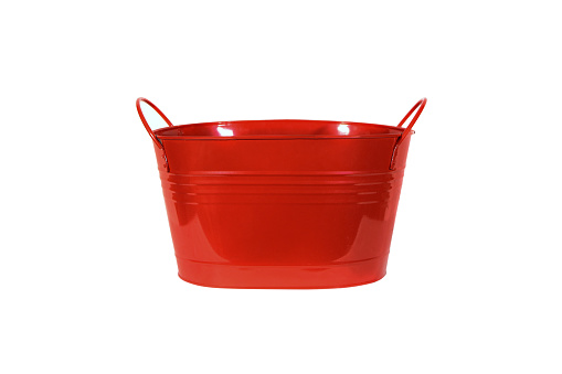 Red Bucket isolate