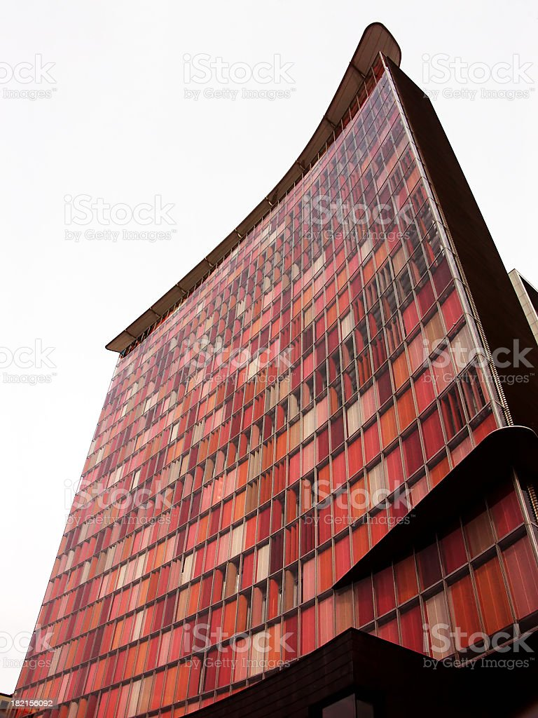 Red Building stock photo