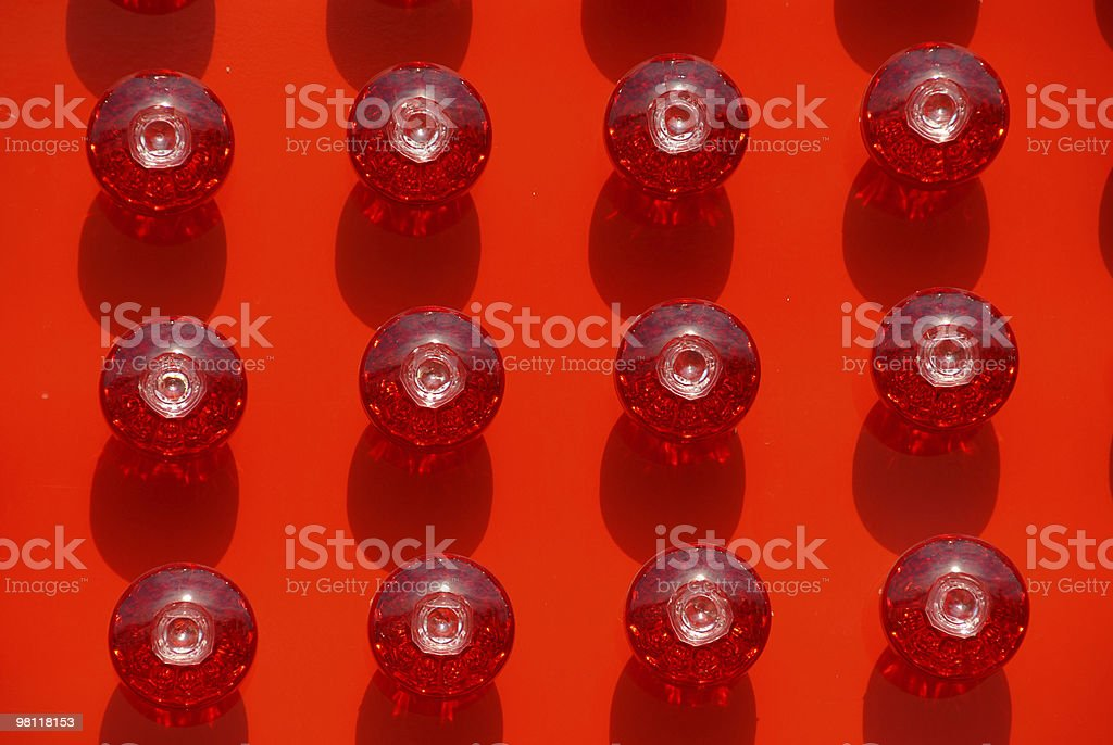 Red Bulbs royalty-free stock photo