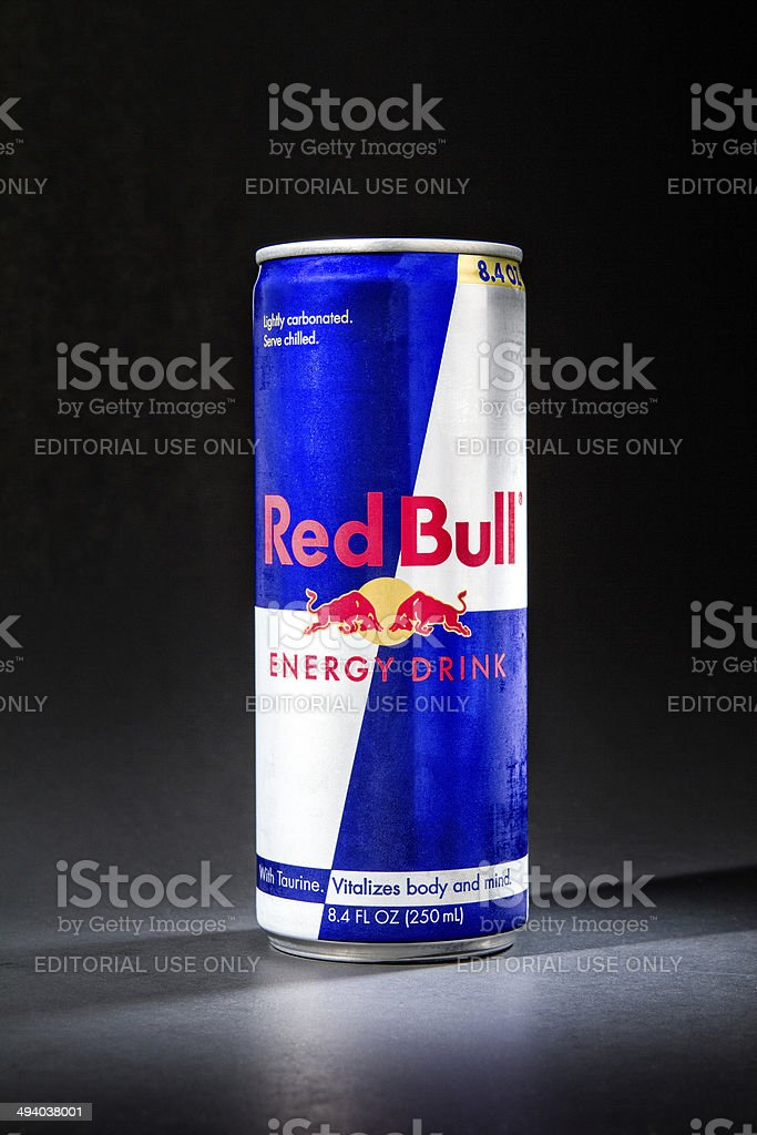 Red Bull 250ml - Stock Image royalty-free stock photo