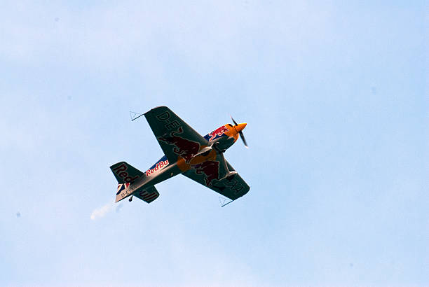 Red Bull Aerobatics Team stock photo