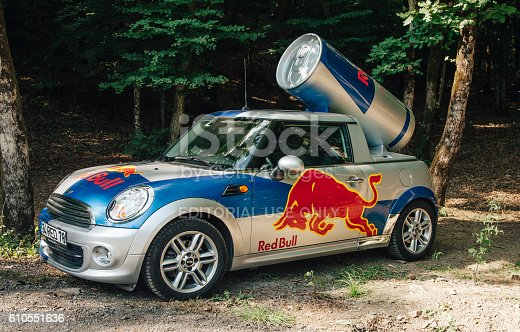 istock Red Bull Car 610551636