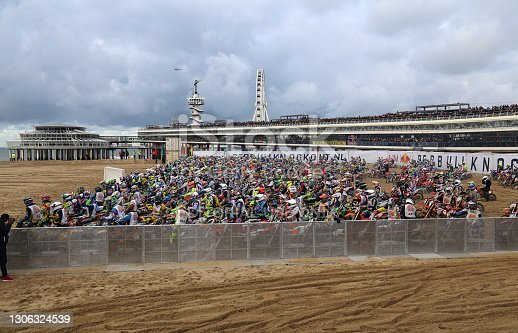 istock Red Bull knock out motocross in Holland 1306324539