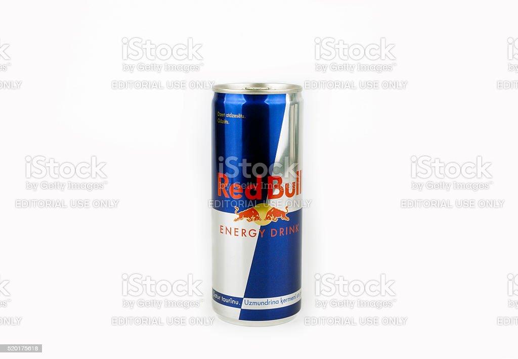 Red Bull stock photo
