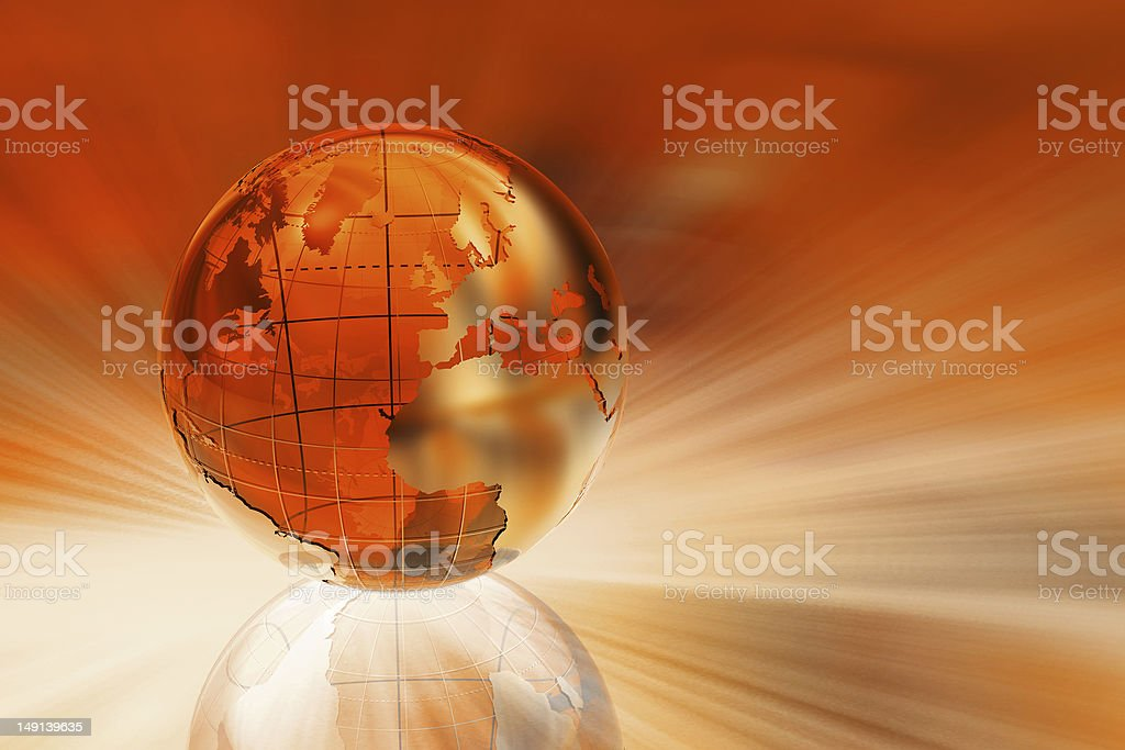 Red business background royalty-free stock photo