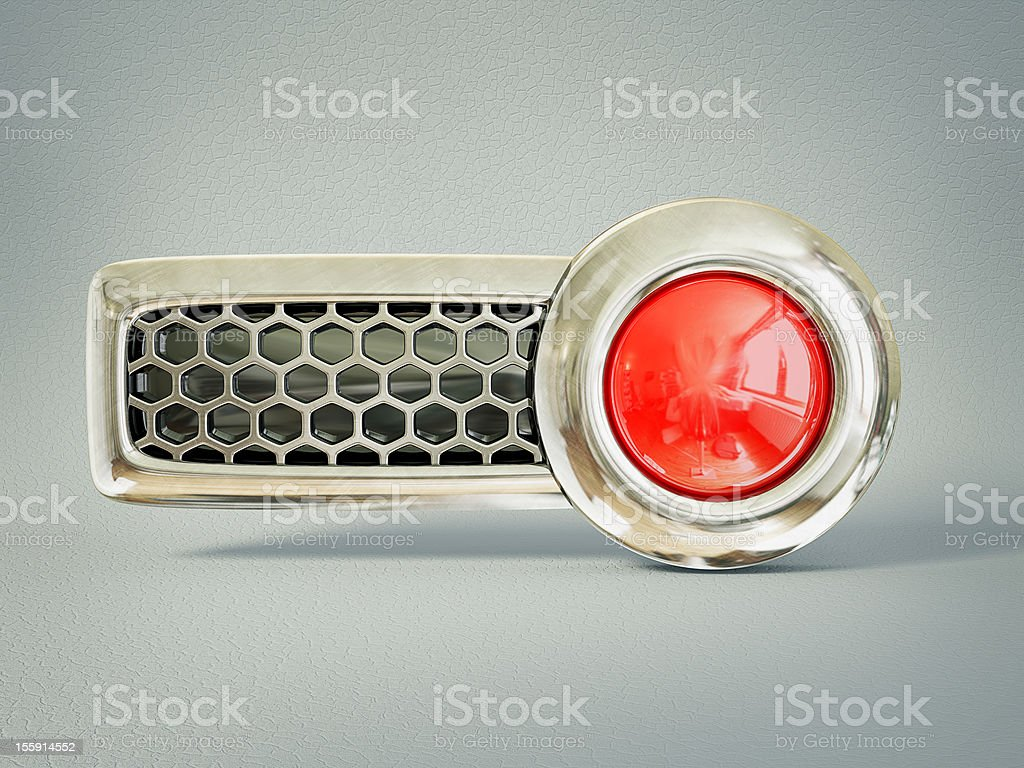 red button royalty-free stock photo