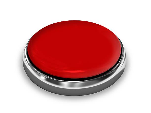 botón rojo - botón de campaña política fotografías e imágenes de stock
