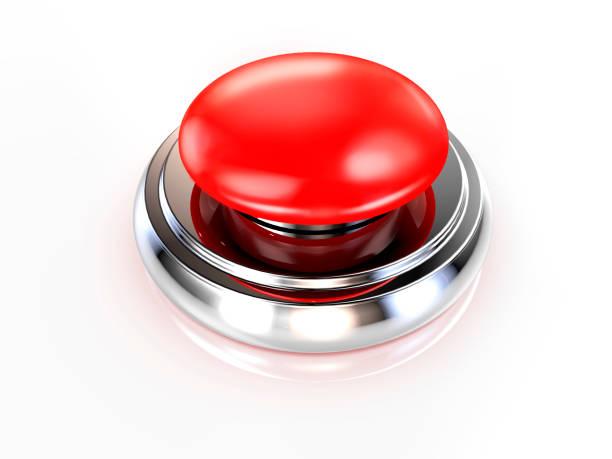 Botón rojo - foto de stock