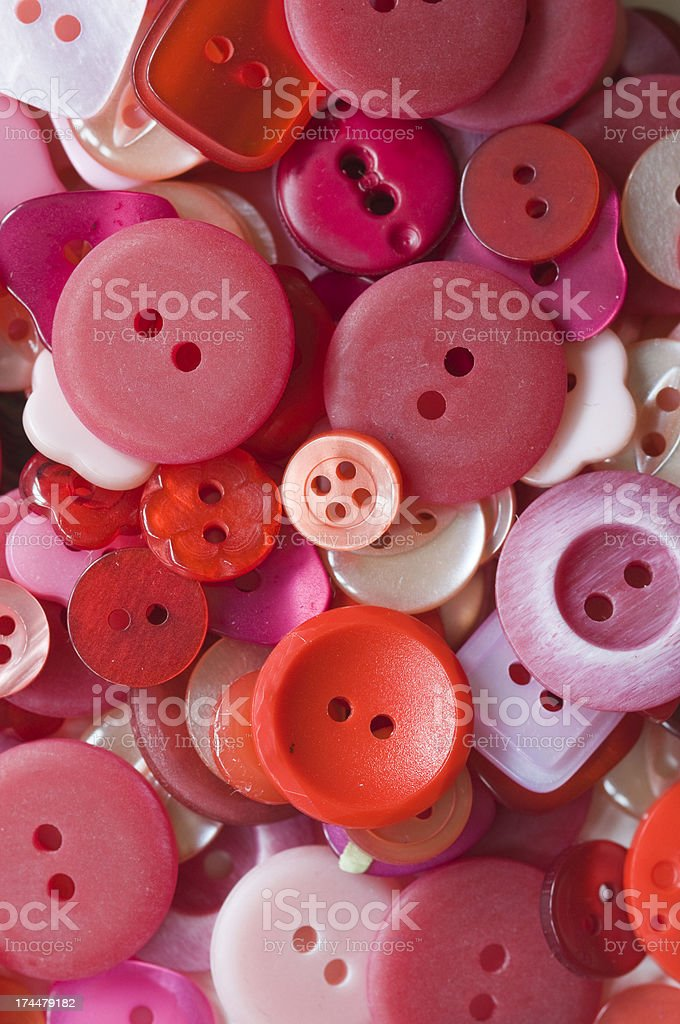 Red Buttons royalty-free stock photo