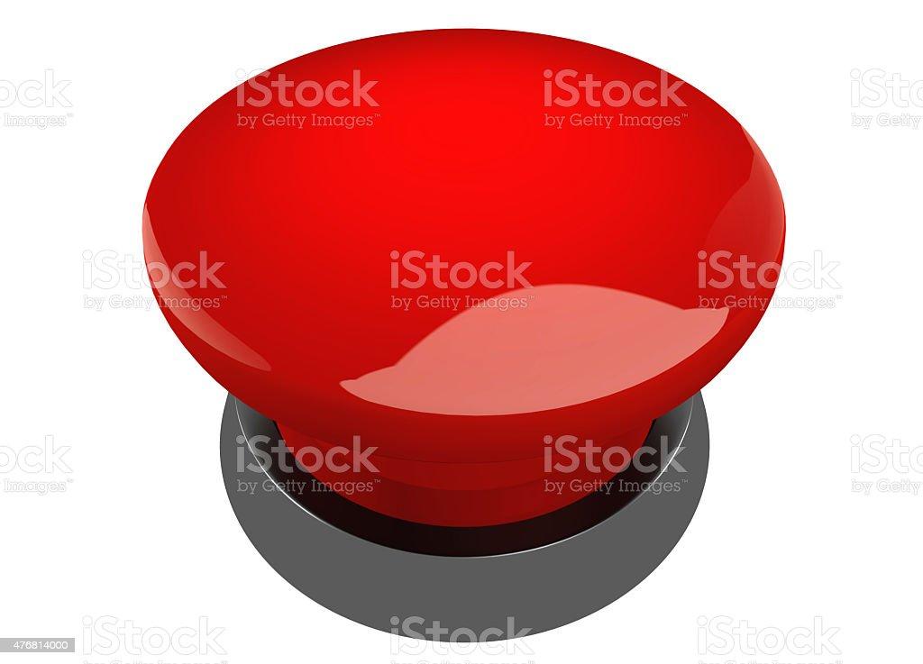 Red buzzer button stock photo