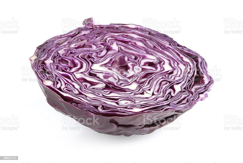 Red cabbage royalty-free stock photo