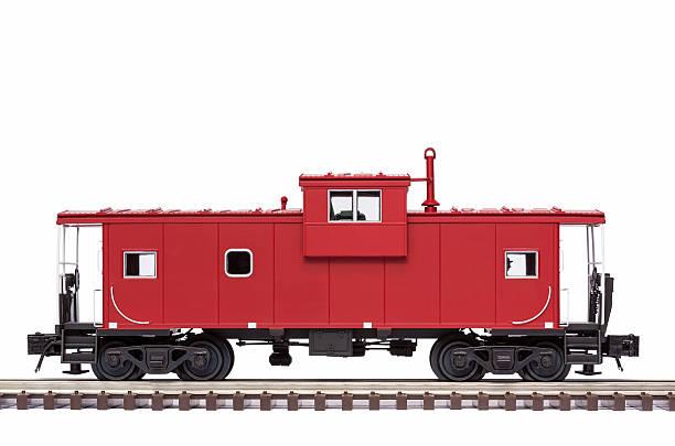 red caboose - järnvägsvagn tåg bildbanksfoton och bilder