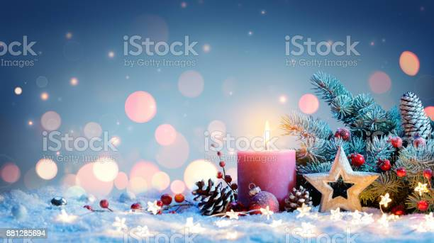 Red candle with christmas decoration picture id881285694?b=1&k=6&m=881285694&s=612x612&h=emkxmo9i  yhvjbvoks43n0cerg3uxbc5bf6hmd22qw=