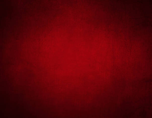 Red canvas background for christmas stock photo