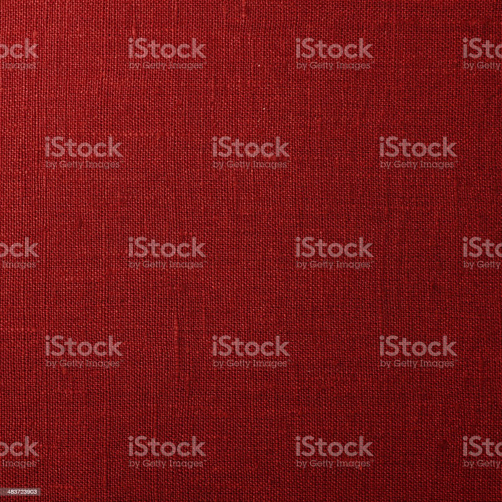Red canvas texture stock photo