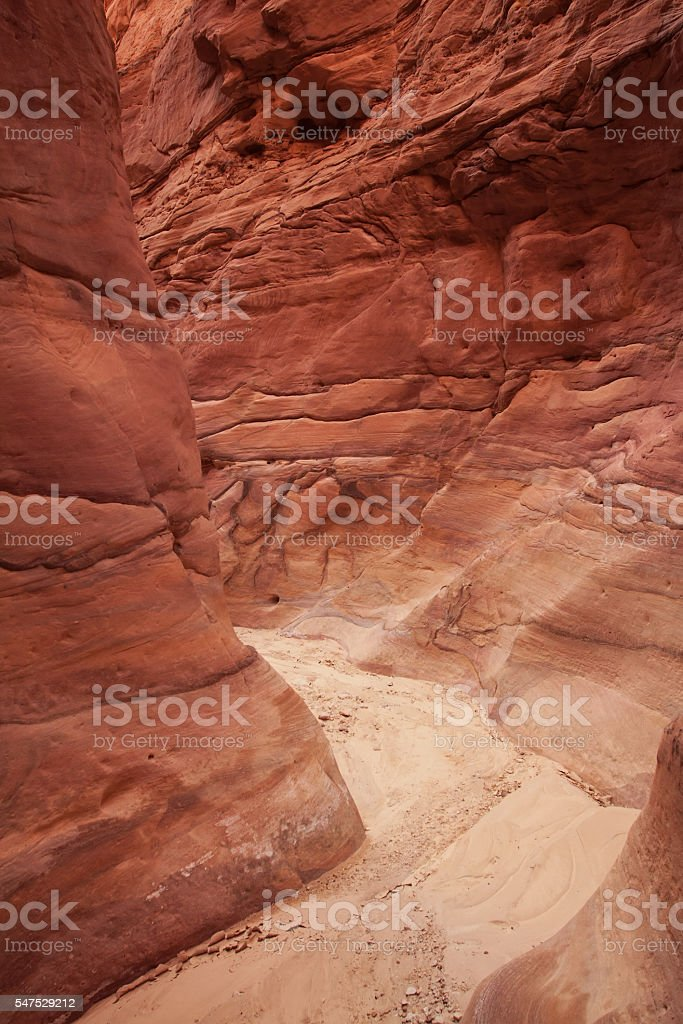 Red Canyon stock photo
