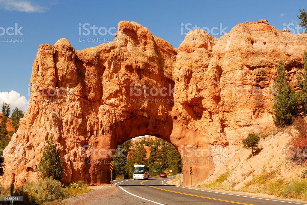 Red Canyon, Utah. stock photo