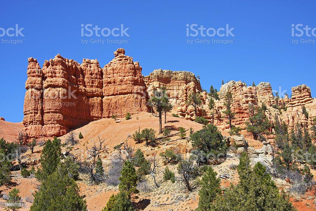 Red Canyon. Utah. USA. stock photo