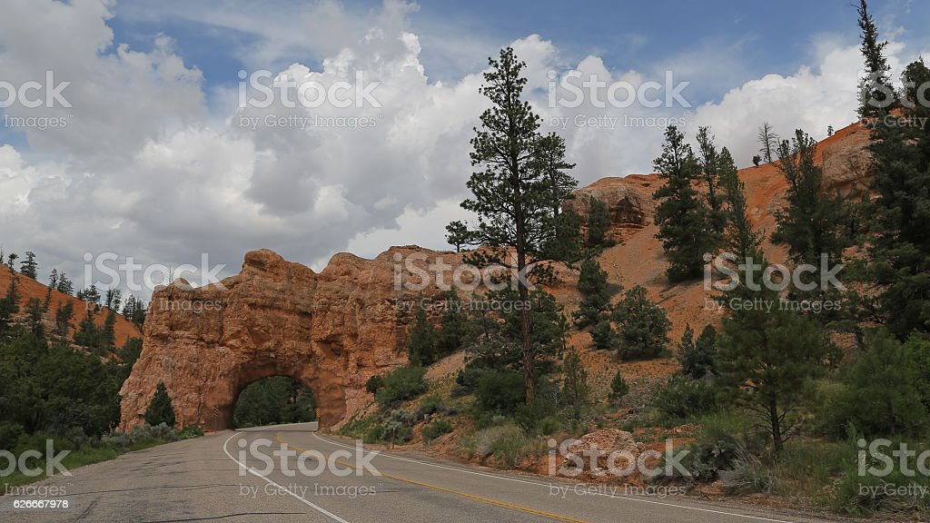 Red canyon, Utah, USA stock photo