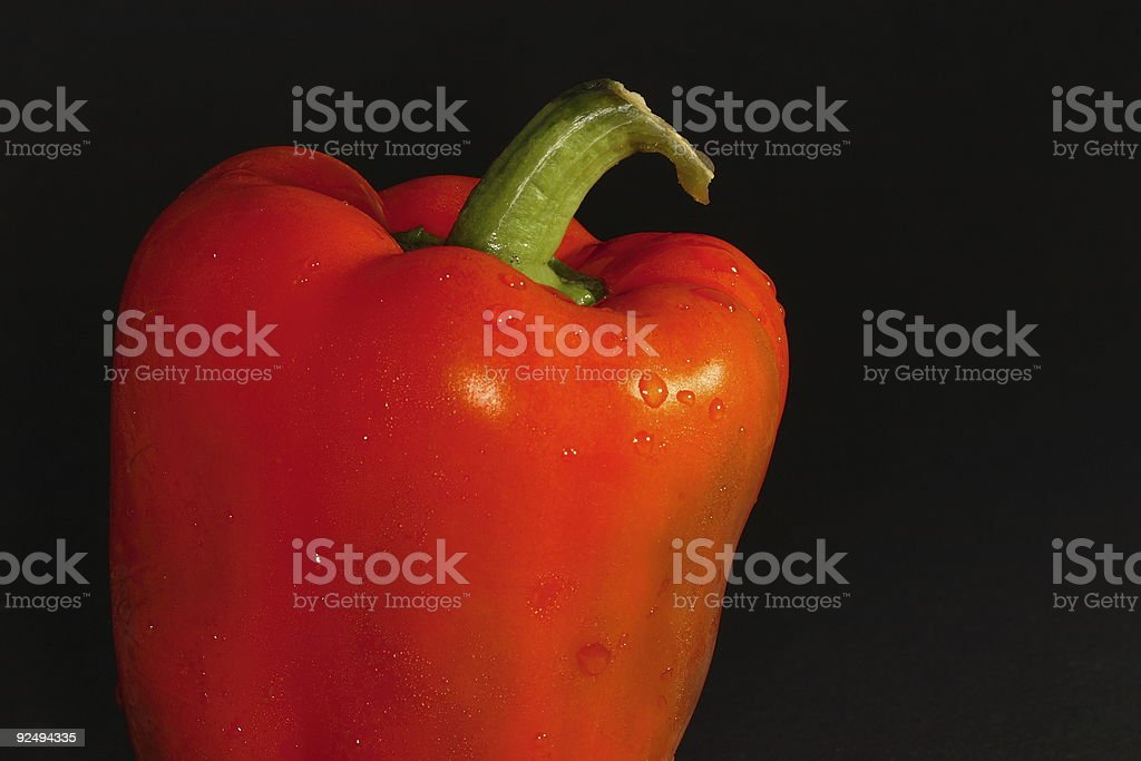Red Capsicum royalty-free stock photo