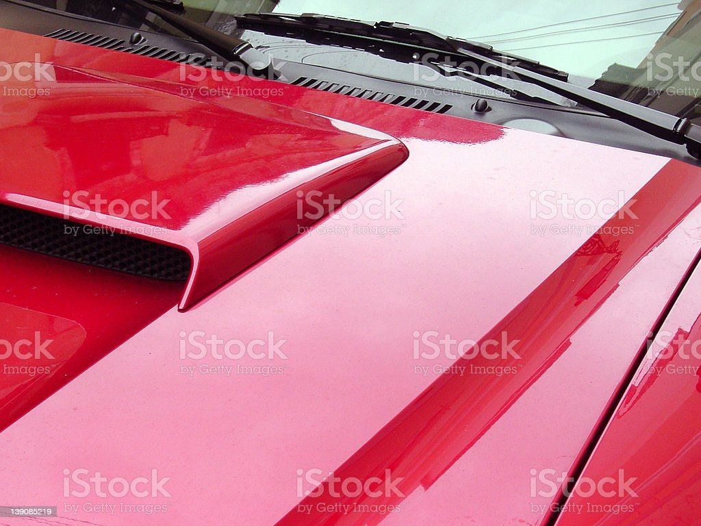 Red Car royalty-free stock photo