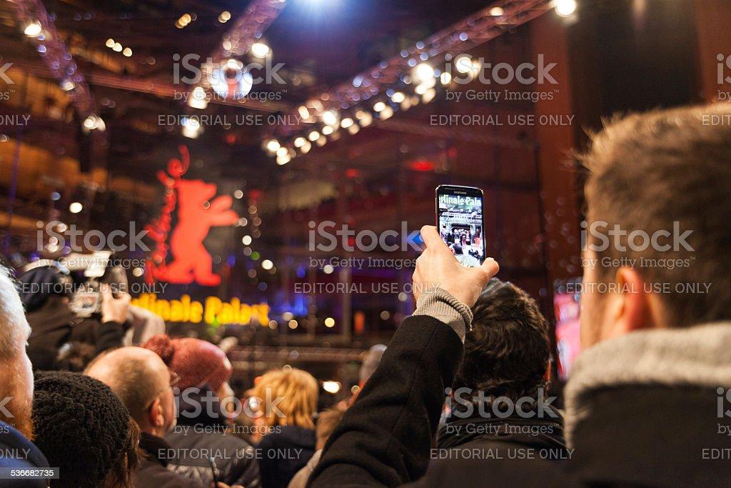 Red Carpet - 65th Berlinale International Film Festival stock photo