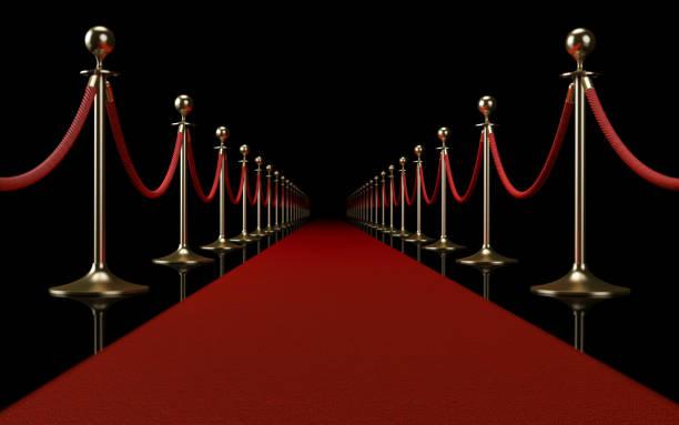 Red Carpet Event Concept stock photo