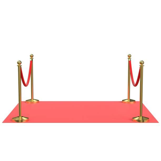 Red carpet module - foto stock